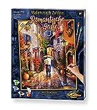 Schipper 609130788 Malen nach Zahlen, Romantische Gase - Bilder malen für Erwachsene, inklusive Pinsel und Acrylfarben, 40 x 50 cm