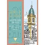 Clairefontaine 21 x 29.7 cm, Städten, Erwachsene, Farbe Malbuch, Mehrfarbig