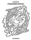 Malbuch für Erwachsene - Meeresbewohner 1
