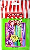 STABILO Premium-Filzstift - Pen 68 Mini - Sweet Colors - 15er Pack - mit 15 verschiedenen Farben im wiederverschließbaren Beutel