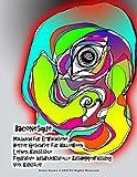 Baconesque Malbuch für Erwachsene Horror Gesichter für Halloween Lernen Kunststile Figurative ausdrucksvolle Zusammenfassung Von Künstler Grace Divine