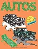 Autos Glückliches Malbuch für Männer. Groß 400+ Seiten. Mehr als 200 Automodelle: Alfa Romeo, Hyundai, BMW, Mazda, Dodge, Porsche und andere. ... Kunsttherapie. Neues Malbuch für Erwachsene