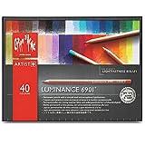 Caran d´Ache 6901.740 Artist Luminance 6901 Set aus 40 Stiften