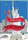 Mal dir New York: 20 zauberhafte Stadtansichten zum Ausmalen & Entspannen