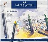 Faber-Castell 114748 - Farbstifte mit permanenter Ölkreidemine Goldfaber, 48er Set