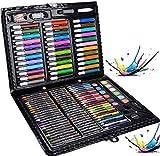 Legendog Malkasten für Kinder, 150 Pcs Buntstifte Set   Malset Kinder   Kinderspielzeug   Geschenk für Kinder   Farben Set für Kinder (150 Pcs)