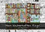 Mein zauberhaftes Regal zum Ausmalen (Wandkalender 2020 DIN A4 quer): Ausmalkalender mit Regal-Wimmelbildern (Geburtstagskalender, 14 Seiten ) (CALVENDO Spass)