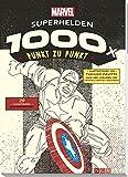 MARVEL: Superhelden - 1000x Punkt zu Punkt: 20 Comicfiguren zum Nachzeichnen
