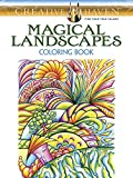 Creative Haven Magical Landscapes Coloring Book (Creative Haven Coloring Books)