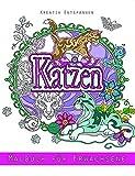 Katzen - Malbuch für Erwachsene: Kreativ entspannen