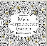 Mein verzauberter Garten: Eine Schatzsuche. Ausmalbuch für Erwachsene zum Entspannen und Stress abbauen.