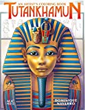 Tutankhamun: An Artist's Coloring Book (Artists Colouring Book)