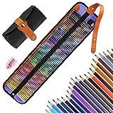 Vegena 72 Prismacolor Buntstifte Set Zeichnen Bleistifte Art Set für Erwachsene Schüler Kinder Malbücher Zeichnen Schreiben Skizzieren Kritzeln Professionelle Farbmischung Malen