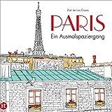 Paris: Ein Ausmalspaziergang (insel taschenbuch)