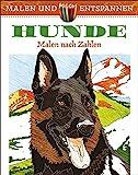 Malen und entspannen: Malen nach Zahlen - Hunde
