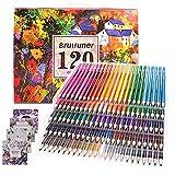 Buntstifte für Malbücher für Erwachsene, Künstler 120 Farben