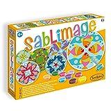 Sentosphere 3900892 Sablimage Sandbilder Bastelset für Kinder, Motiv Mandalas Tiere, Kreativset, DIY