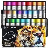Hethrone Dual Brush Pen Set 100 Farben Pinselstifte Filzstifte Journal Zubehör Stifte für Kalligraphie Handlettering Ausmalen Erwachsene