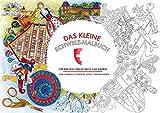 Das kleine Schweiz-Malbuch: Für kreative Erwachsene und Kinder
