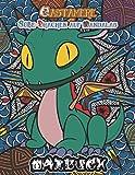 Qastamere süße Drachen auf Mandalas: Malbuch für große Kinder, Erwachsenen. Schwierige + einfache Malvorlage mit 1 Drache auf einem Mandala. Fantasy ... Fantastische fabelwesen Relax Entspannung