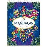 Mandalas Malbuch für Erwachsene Vol.II von Colorya - Malbuch Erwachsene mit Spiralbindung, A4 Künstlerpapier Papier, kein Durchdrücken, Einseitiger Druck + Extra eBook mit Beispielen und Ausmaltipps