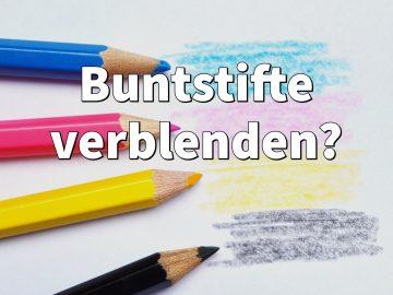 Buntstifte verblenden: Zeichnen lernen für Anfänger (Blender)