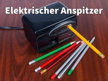 Elektrischer Anspitzer: Alle Stifte automatisch spitzen (Spitzer Test)