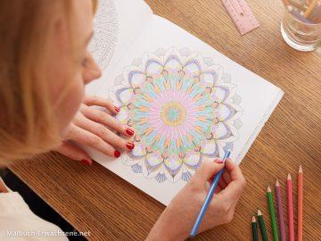 Mandala ausmalen zur Entspannung, als Hobby